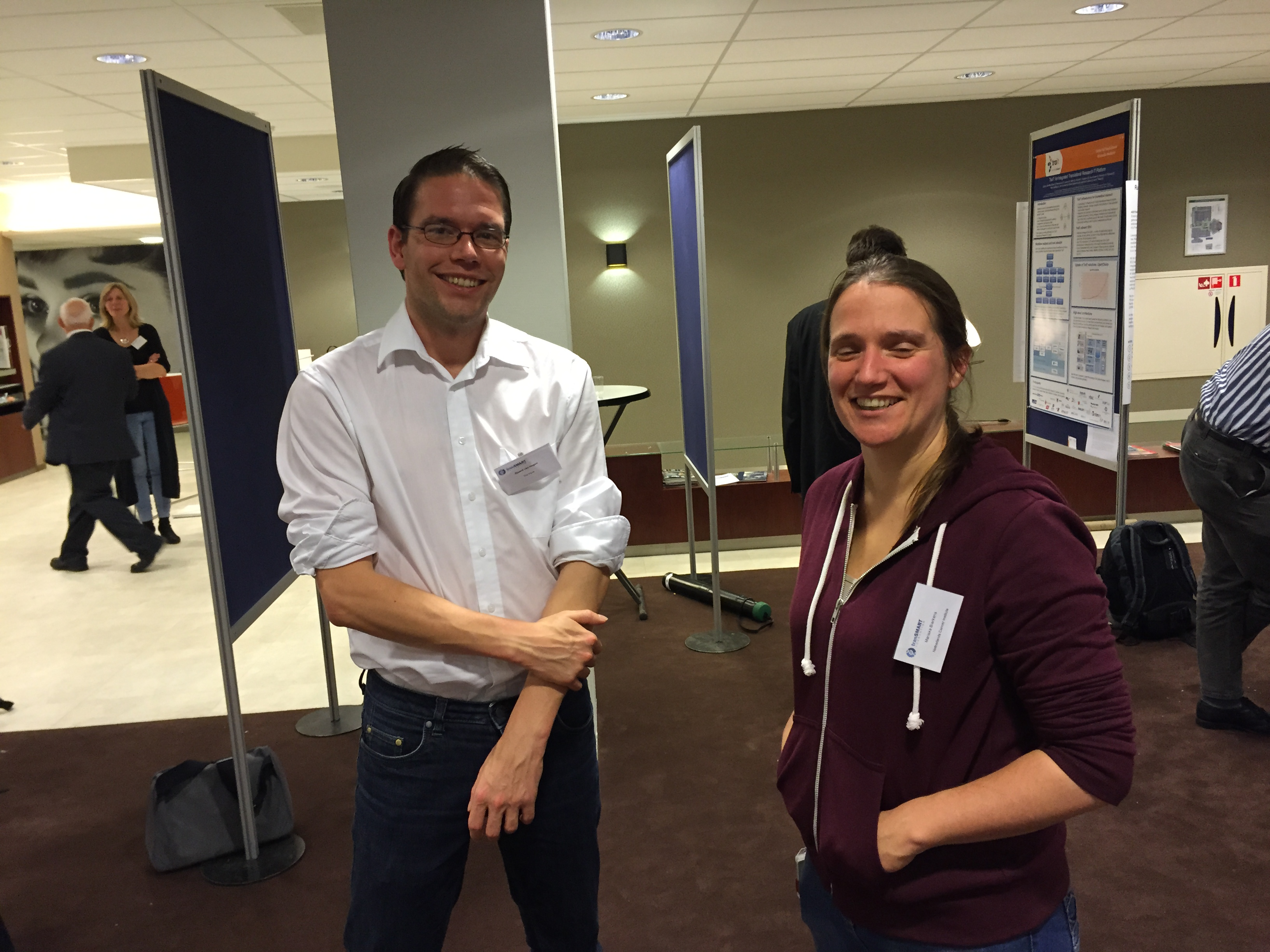 014: At the Poster Session 6