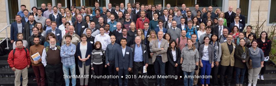 tranSMART Foundation 2015 Annual Meeting, Amsterdam